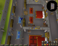 Cryptic clue - search chest lumbridge duke