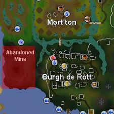 Abandoned Mine map