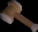 Flamtaer hammer detail