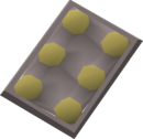 Raw crunchies detail