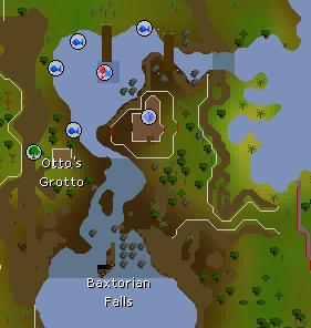 Baxtorian Falls map