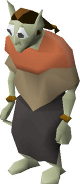 Cave goblin (Red shawl)