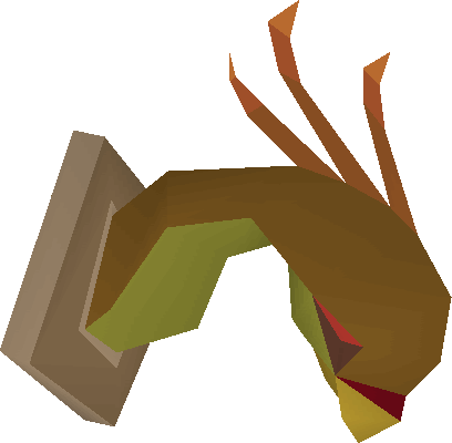 File:Cockatrice head (mounted) built.png