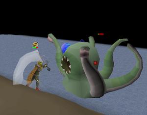 Fighting Sea Troll Queen