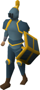 Rune gold-trimmed set (lg) equipped