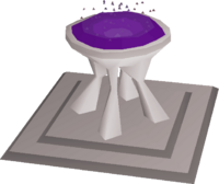 Scrying pool built