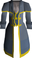 Crier coat detail
