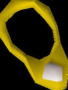 Diamond necklace detail