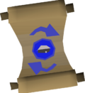 Scroll of redirection detail