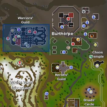 Warriors' Guild   Old School RuneScape Wiki   FANDOM powered