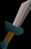 Criminal's dagger detail