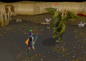 Dragon Slayer - Fighting Elvarg