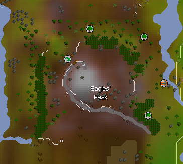 Eagles' Peak map