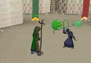 Fighting Goblin Champion