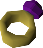 Ring of wealth (uncharged) detail