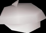 White beret detail