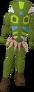 Green Broodoo victim