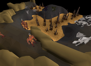 Stronghold Slayer Cave - lava area
