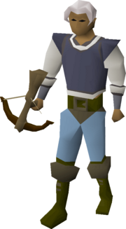 Phoenix crossbow equipped