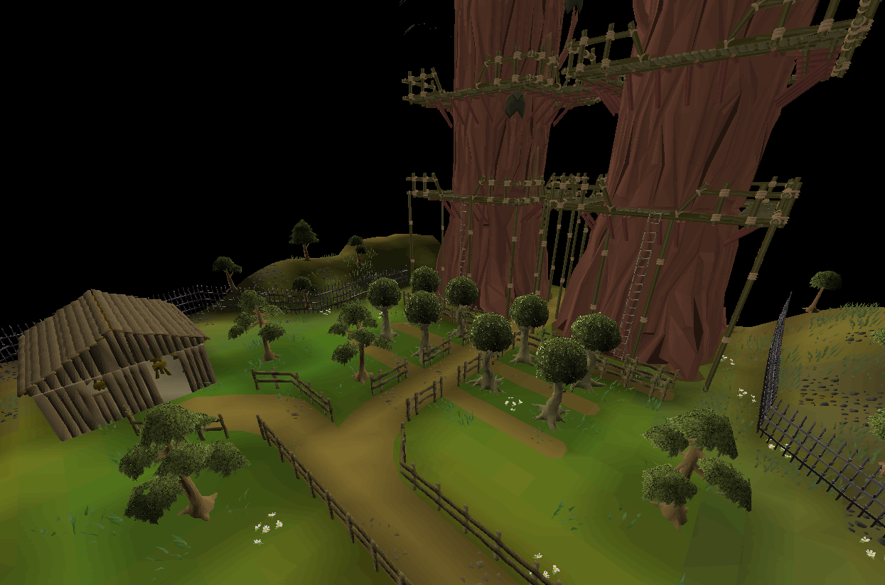 Runescape 3] overgrown idols guide | woodcutting update! Youtube.