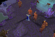 Catacombs of Kourend north fire giant safe spot