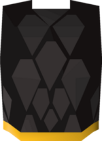Black d'hide body (g) detail