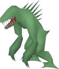 Dagannoth mother green