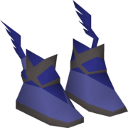 Graceful boots (Agility Arena) detail