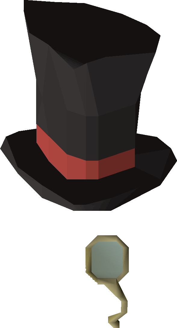 f45febe9e8bd1 The top hat   monocle is acquired by taking both a top hat and monocle to  Patchy on Mos Le Harmless. Doing so requires the completion of Cabin Fever  and a ...