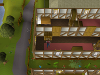 Cryptic clue - search drawers jerico east ardougne