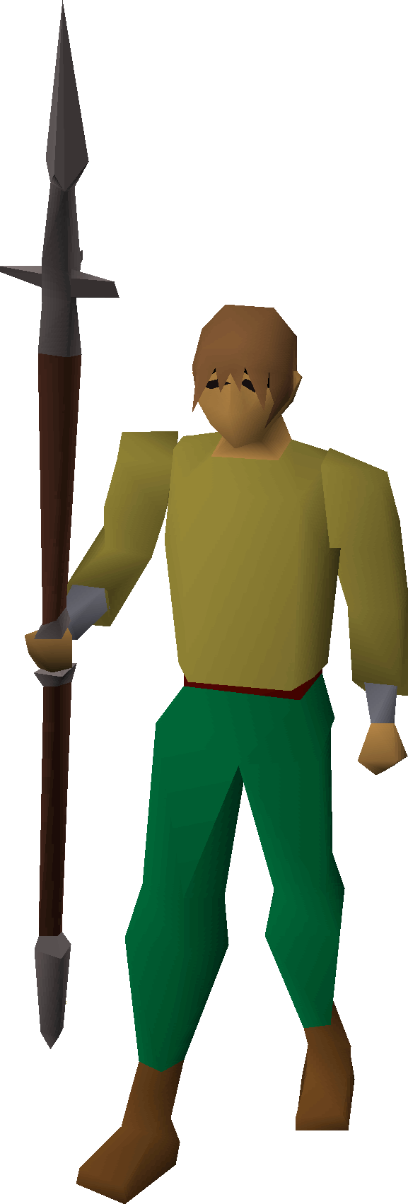 File:Iron hasta equipped.png