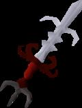Zamorak godsword (or) detail