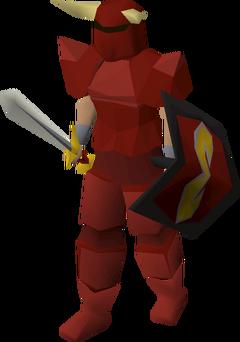 Zamorak warrior (lv 84)