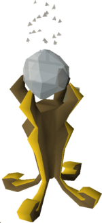 Crystal of power built