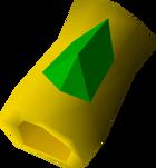 Emerald bracelet detail