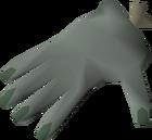 Stuffed crawling hand detail