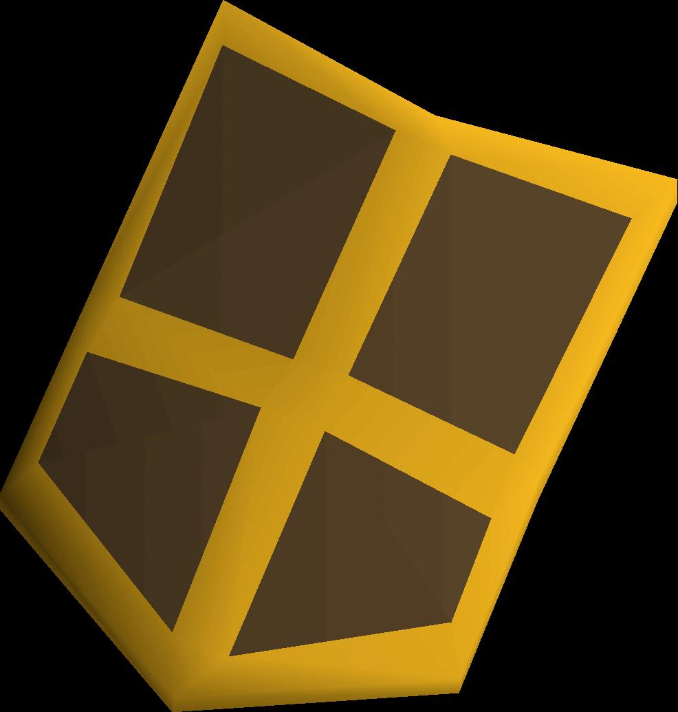 Bronze kiteshield (g) detail