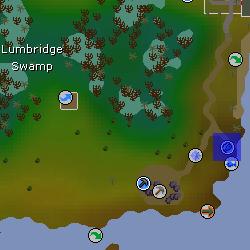 Fishing tutor location