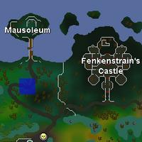 Hot cold clue - Mausoleum map