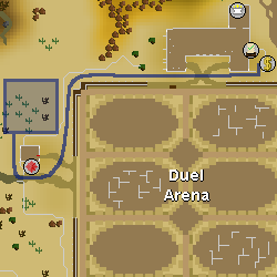Fire altar route