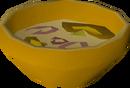 Mushroom & onion detail