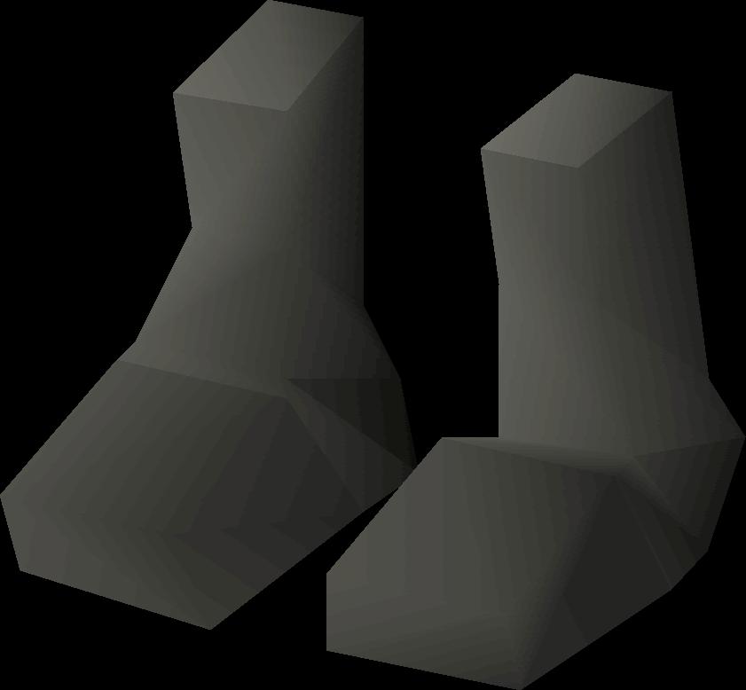 Rock Shell Boots Old School Runescape Wiki Fandom Powered By Wikia