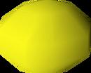 Yellow bead detail