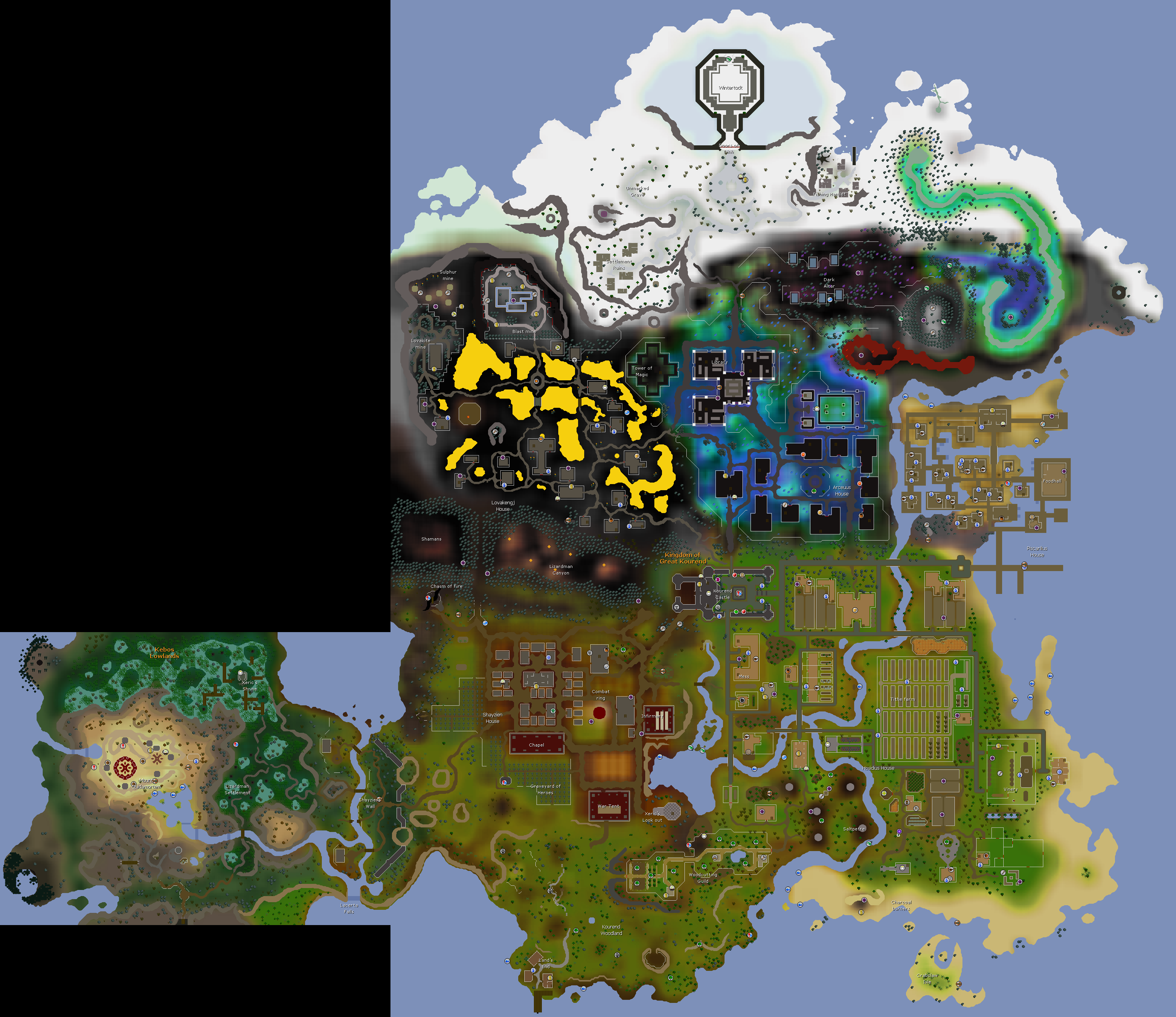 Kourend Catacombs Fairy Ring