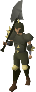 Dharok's armour equipped