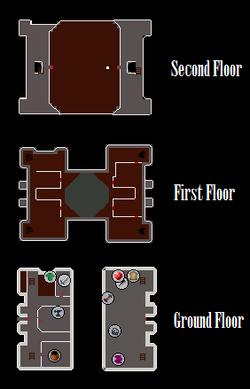 Keldagrim Palace Map