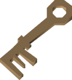 Lighthouse key detail