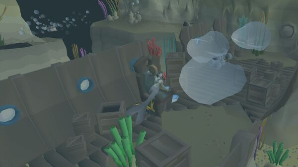 Dev Blog- Fossil Island (Underwater and Mushroom Forest) (2)