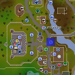 Lumbridge Guide location