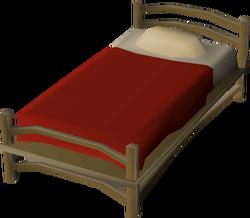 Teak bed built